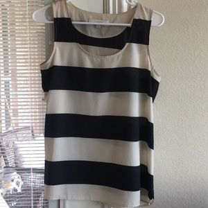 Loft Striped Polyester Tank